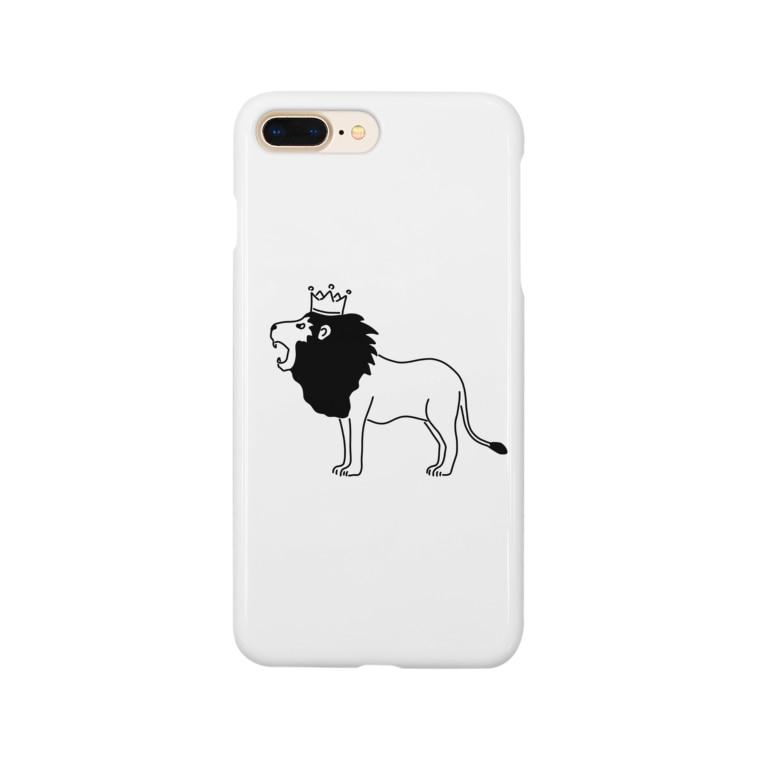 Aliviostaのライオンキング 動物イラスト Smartphone cases