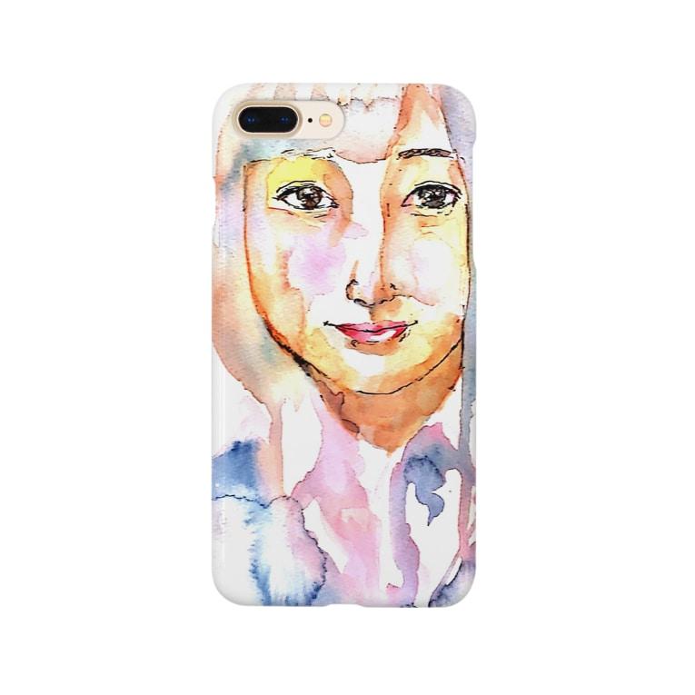 シシカバぐっずの女子高生 Smartphone cases