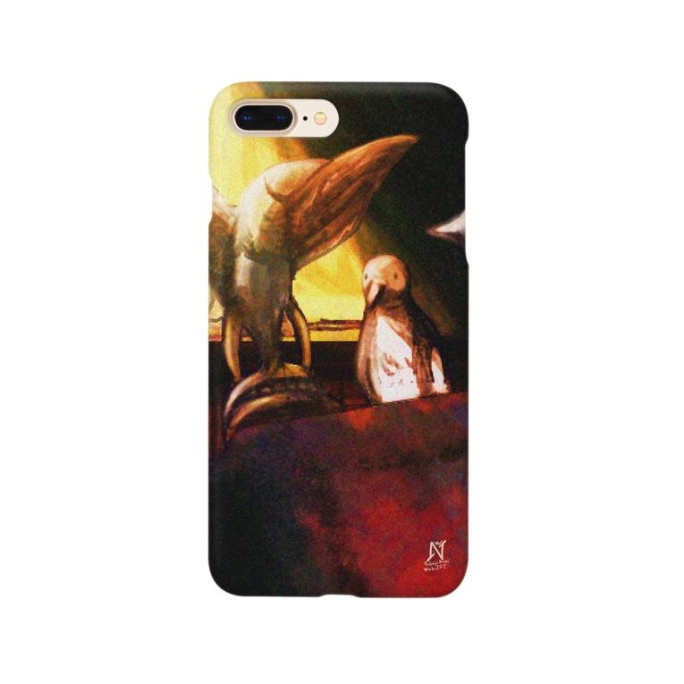 技法勇者の店/Technigic-Braves' Shop in SUZURIの白鳩を呼ぶ造形物 Smartphone Case