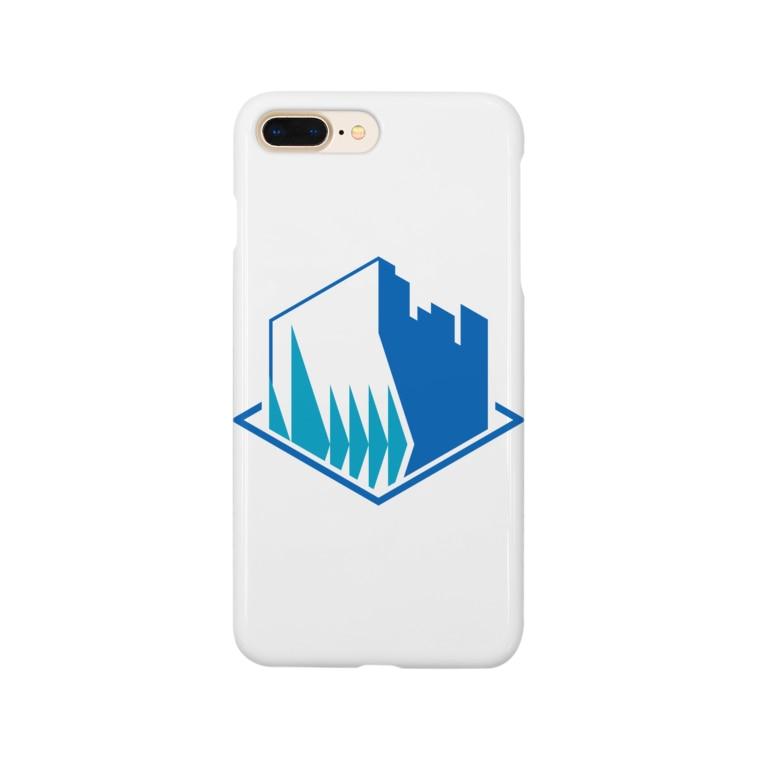 栄免建設の栄免ロゴ Smartphone cases