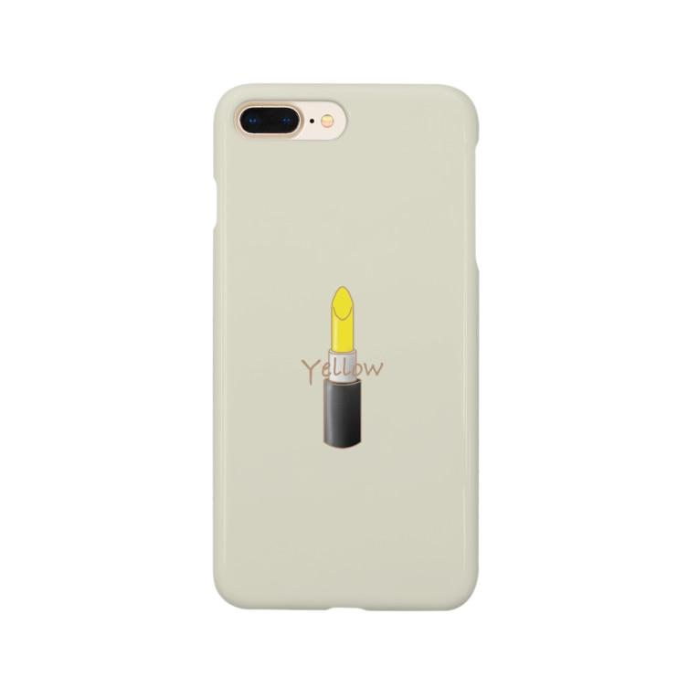 さゆきのイエロー Smartphone cases