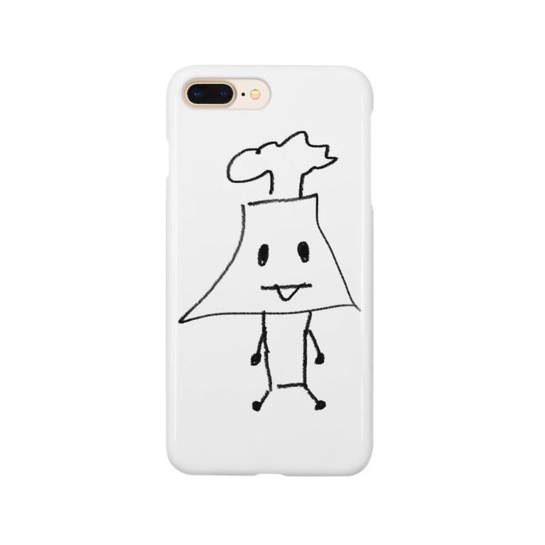 EZ-SHOOTの桜島さん Smartphone cases
