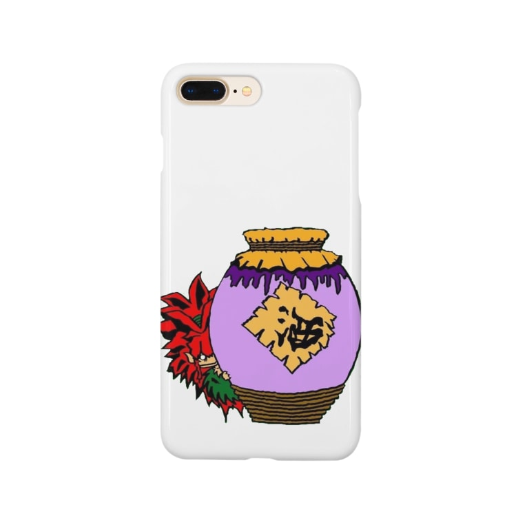 toy.the.monsters!のガジュマルくん 古酒 Smartphone cases
