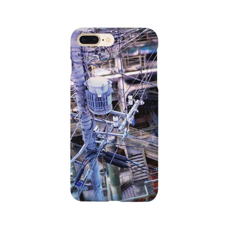 岩村月子の電柱 Smartphone cases