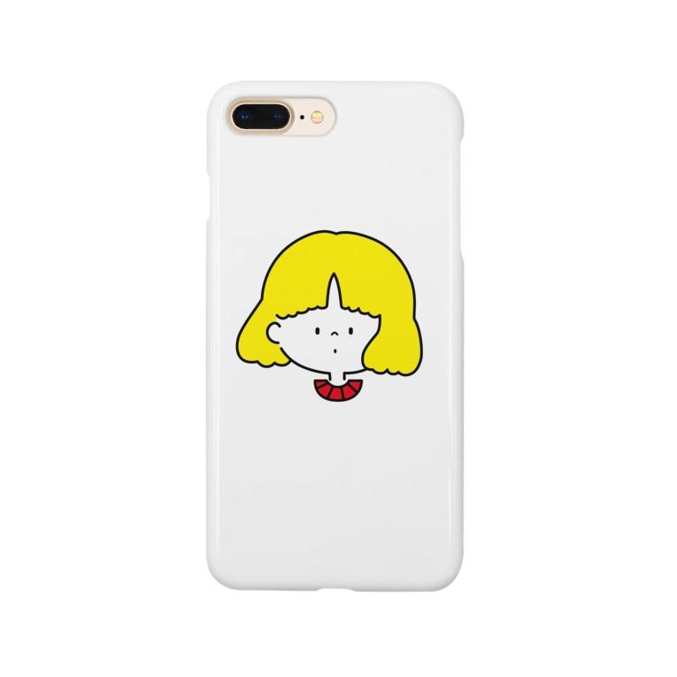 さわいあみの女の子A Smartphone cases