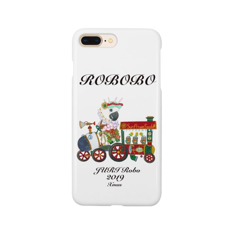 ねこぜや のROBOBO ジュリロボ Smartphone cases