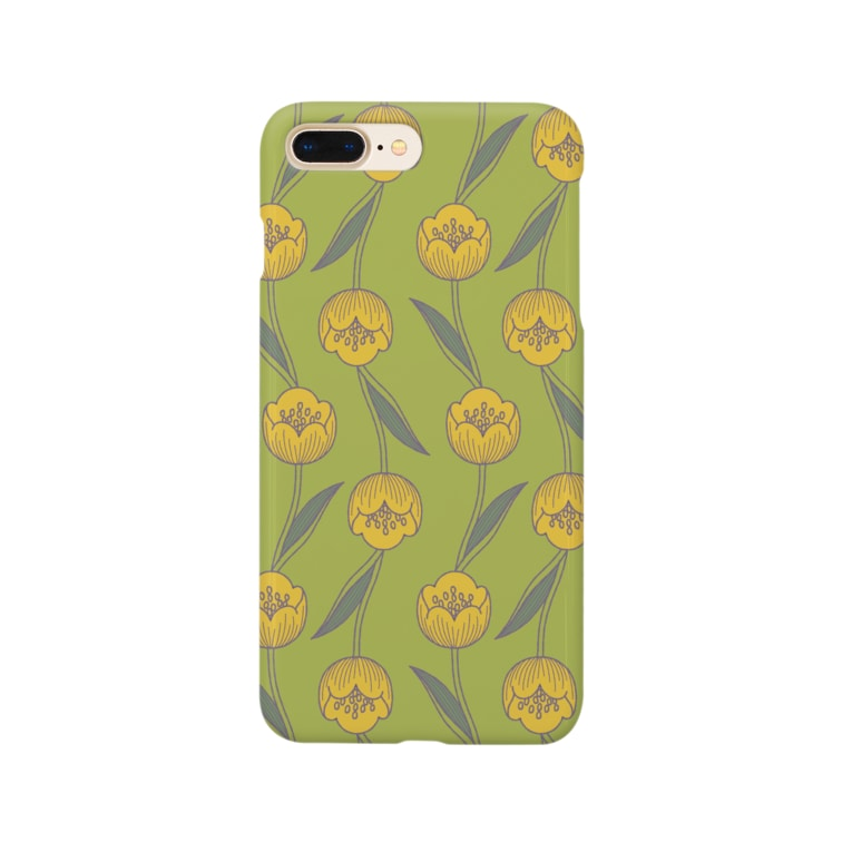 d*ropsのTulips Smartphone cases