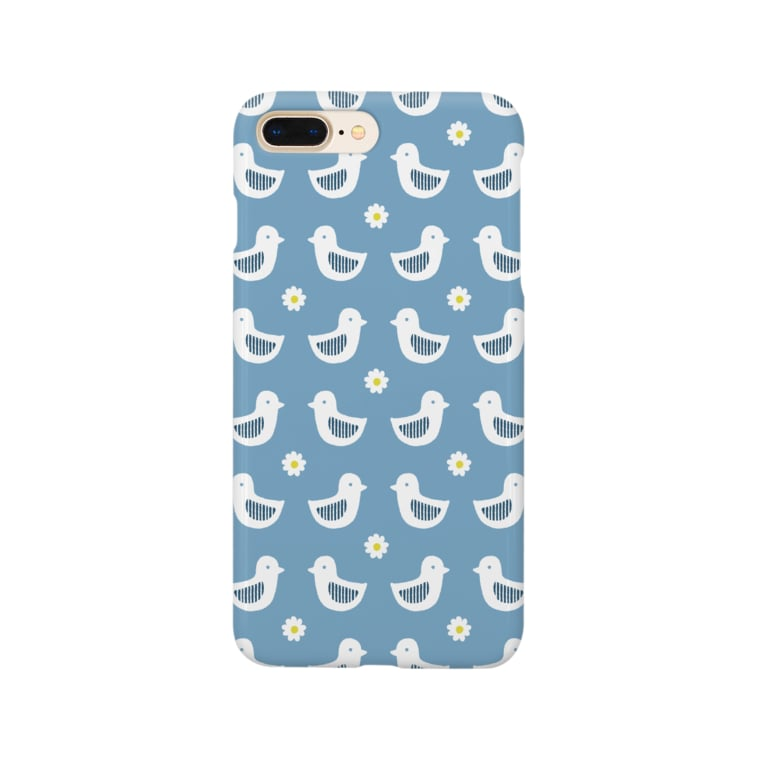 d*ropsのblue bird Smartphone cases