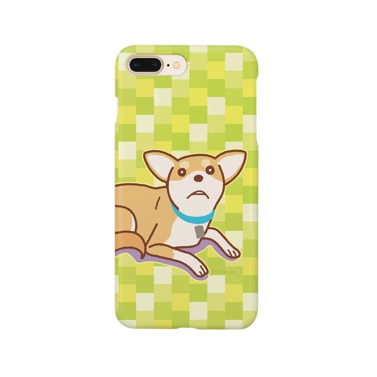 ULI_Tetoのテトさん(犬) Smartphone cases