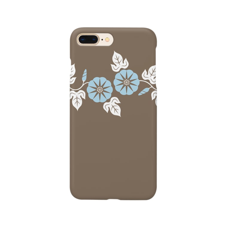 d*ropsのmorning glory Smartphone cases