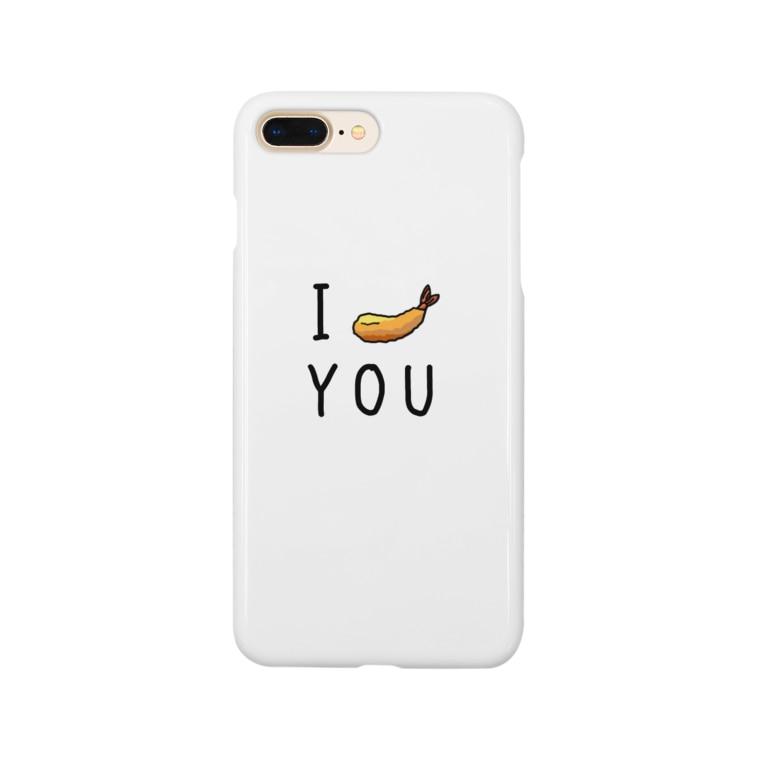 【公式】日本残業協会(JOA)のエビフライ! Smartphone cases