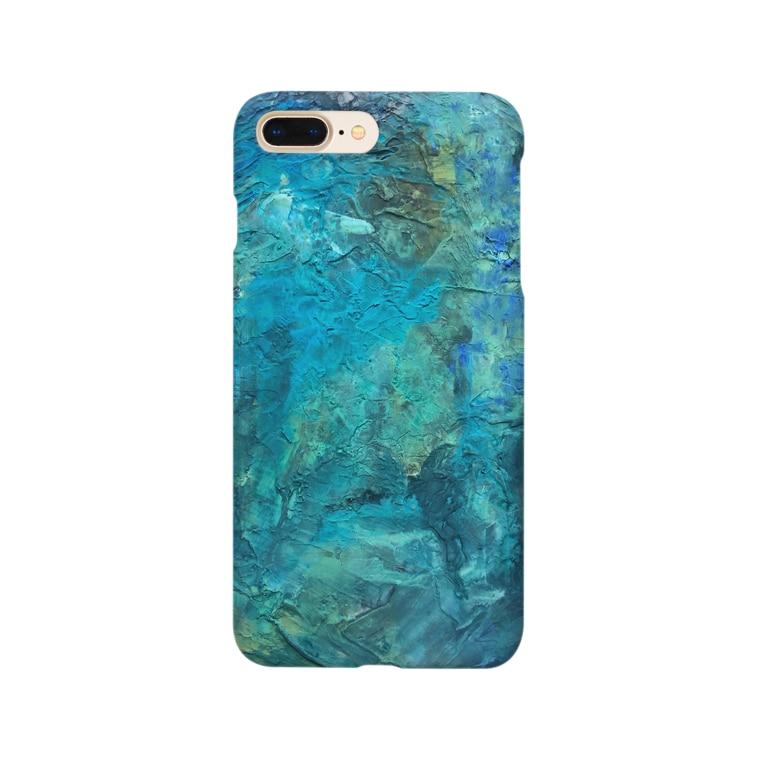 犬野温森の海底ひゃくおくまんキロメートル Smartphone cases