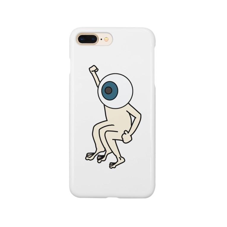 toba_の足が全部右 Smartphone cases