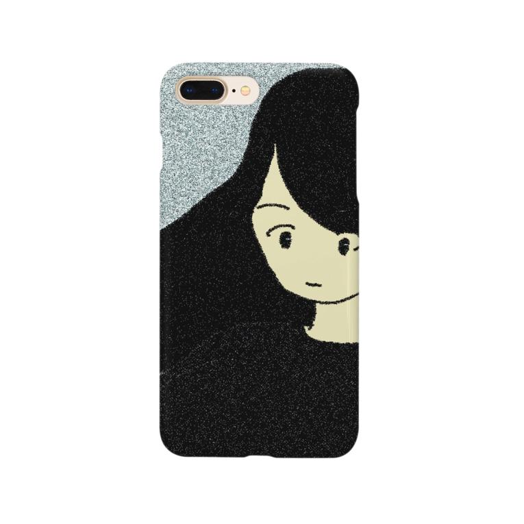 水草のナウ・ガール50 Smartphone cases