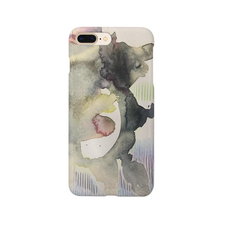 oasis_sumのおんぶコアラ Smartphone cases