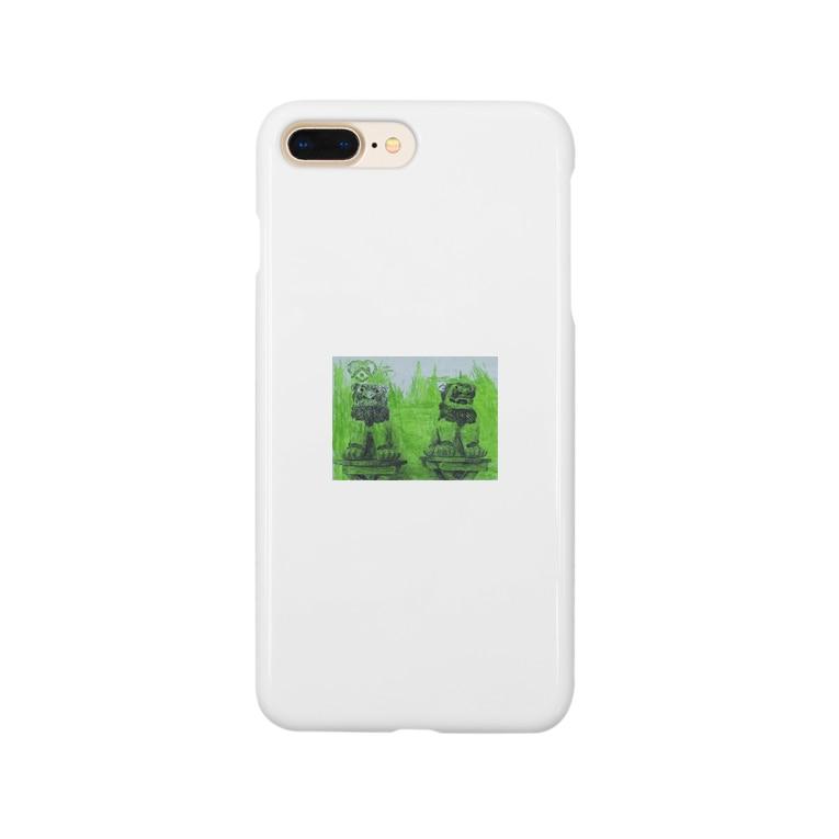maik1982のシーサー Smartphone cases