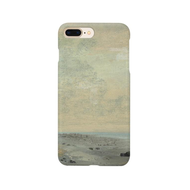 teki shopの日の出(モネ) Smartphone cases