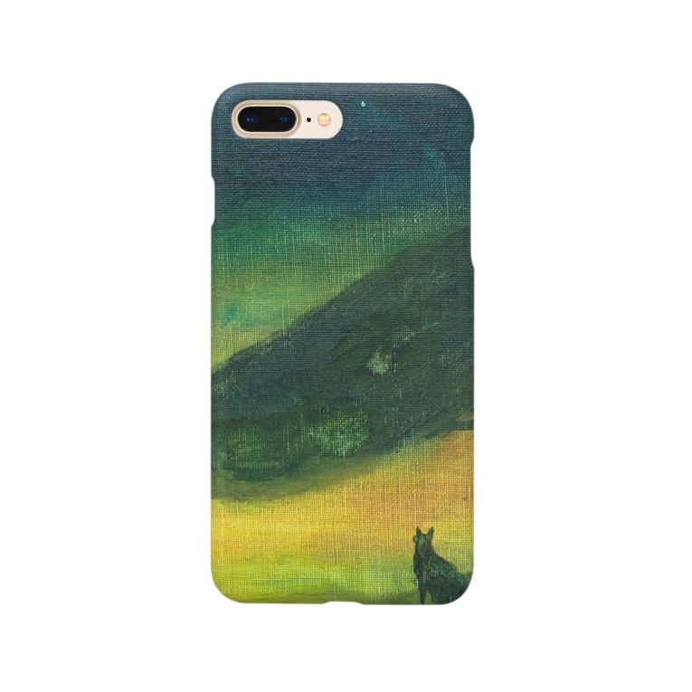 月ノ子の森に恋してのムラナギ/ジキムとロッカ Smartphone cases