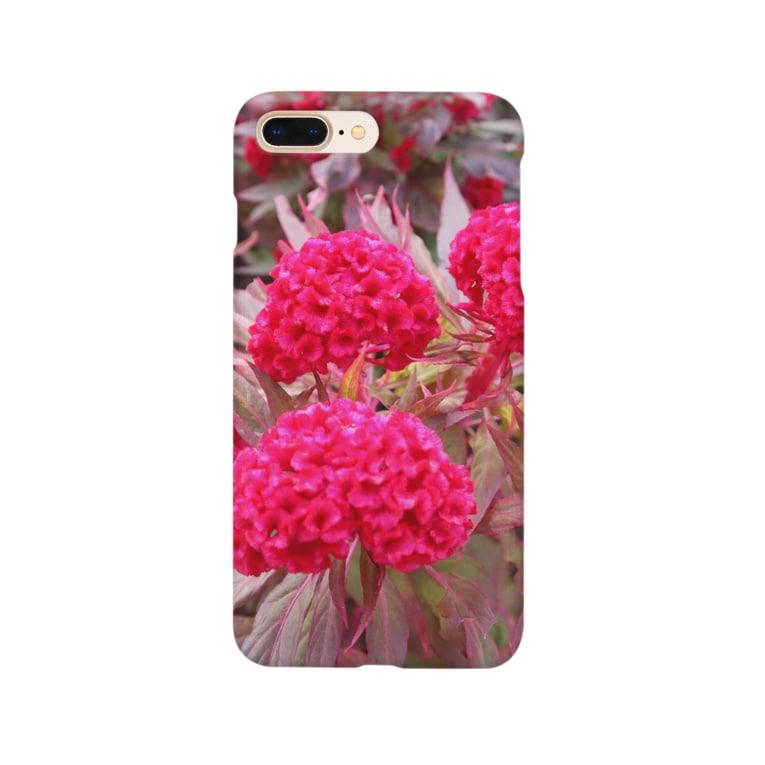 yutoyouのThailand Pink Flower other ver. Smartphone cases
