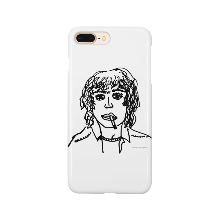 sunny by sideのろくでなしロックスター Smartphone cases