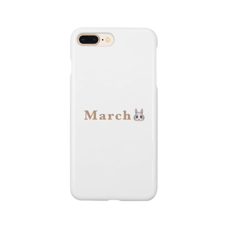 RIMのうさぎ Smartphone cases