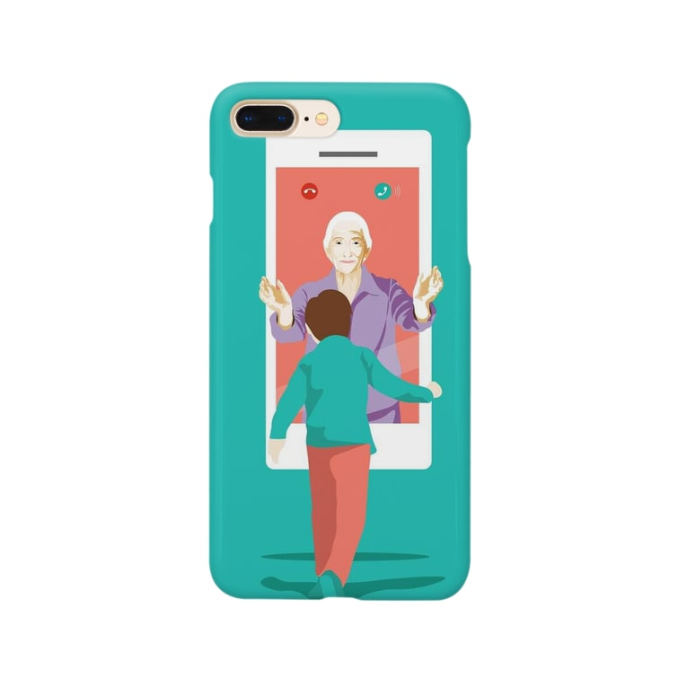 ゴメスのOnline MEETing Smartphone cases