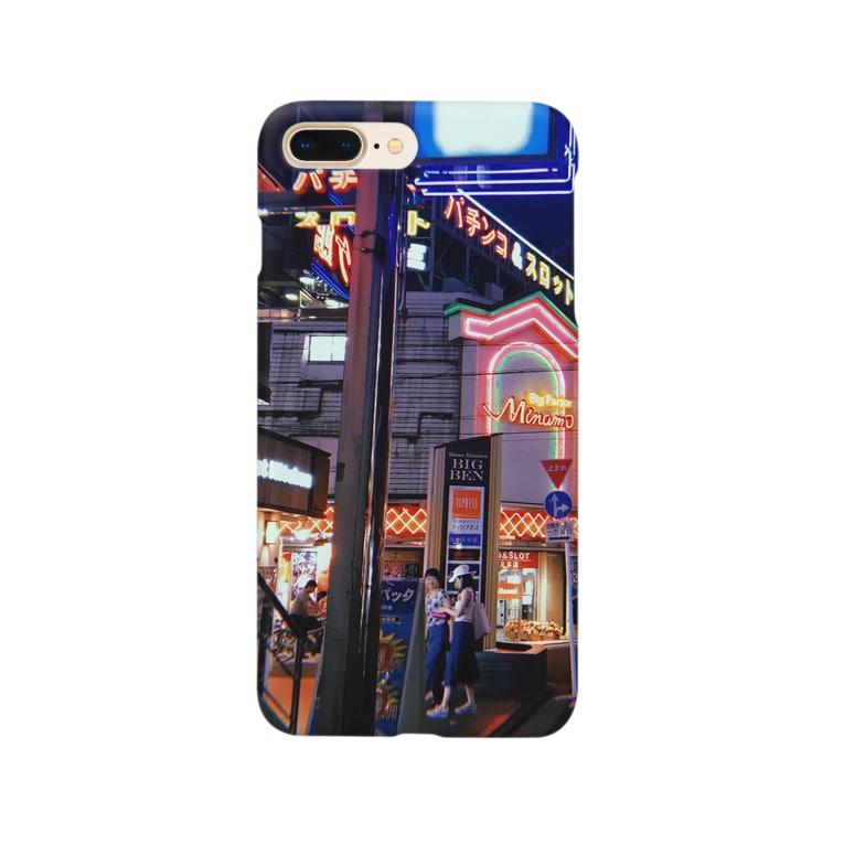 aimaimoco7のあの日の下北沢 Smartphone cases