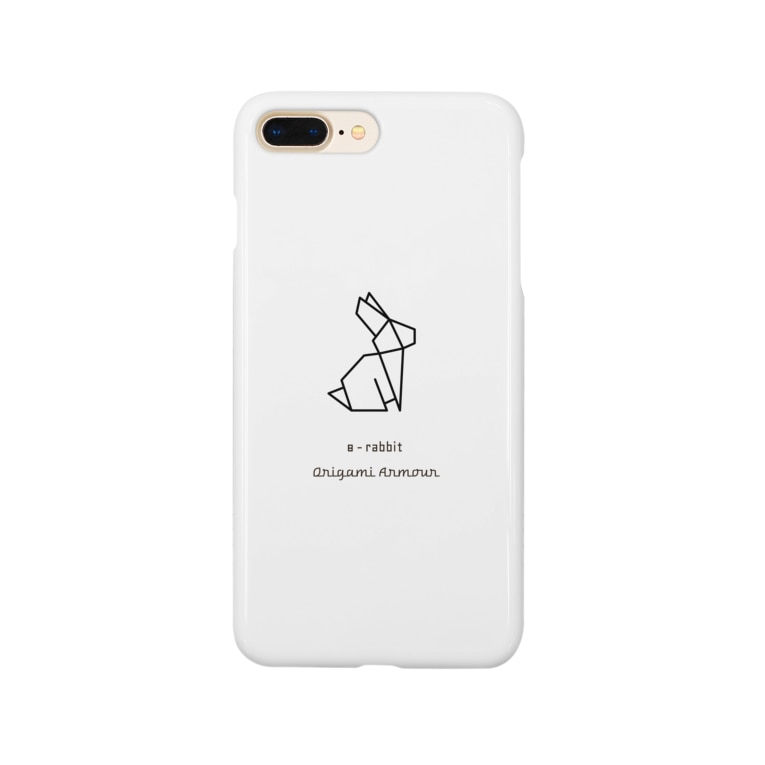 Origami Armour(オリガミアーマー)の8 - rabbit(ウサギ) Smartphone cases