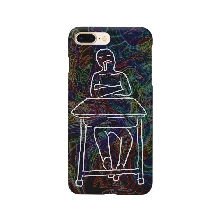 ビル川のはくちゅーむくん Smartphone cases