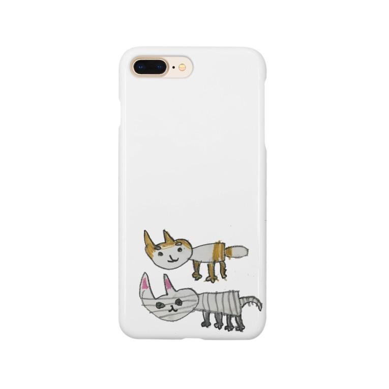 misstoiletpaperのねことしばいぬ Smartphone cases