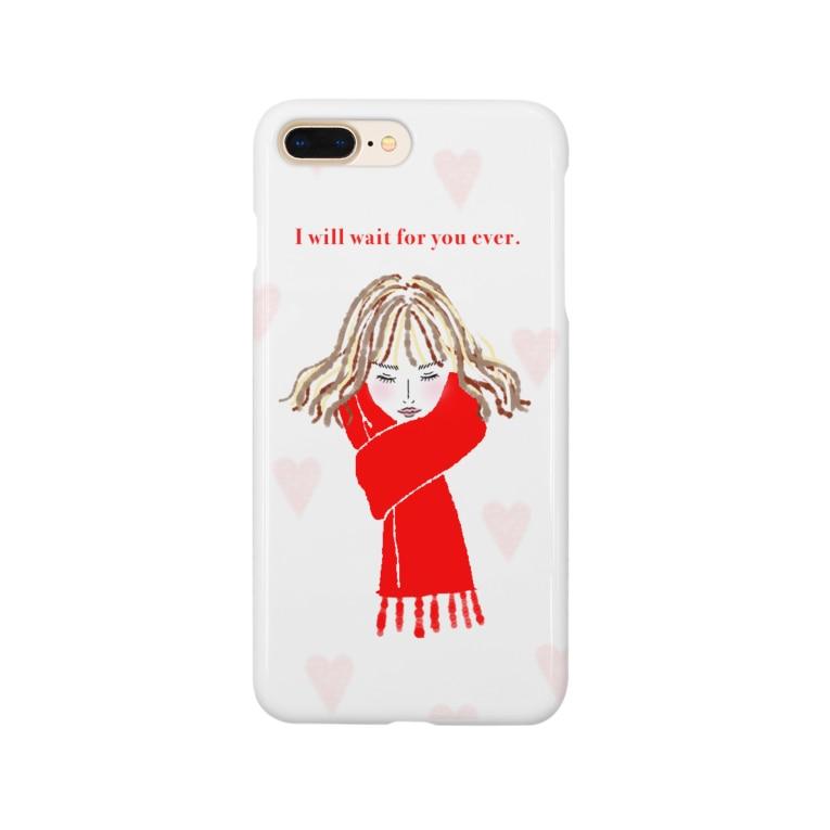 akane-artのハートの女 Smartphone Case