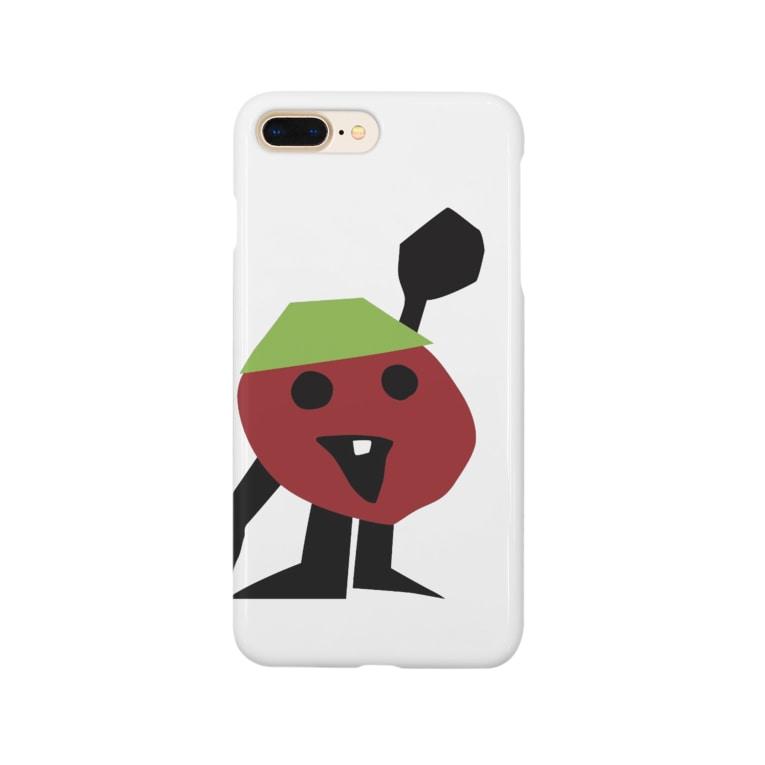 TOMOROKOSHIのパパトマさん Smartphone cases