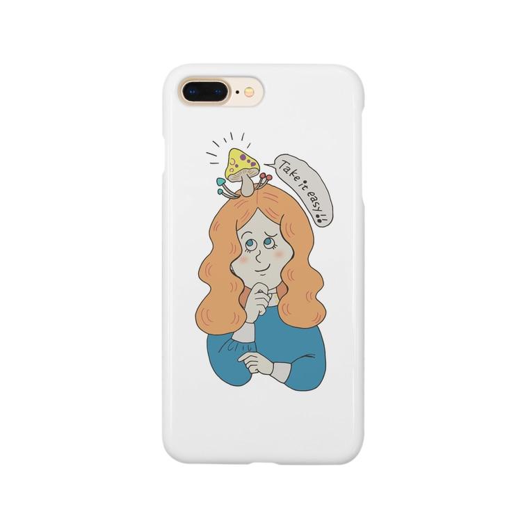 earlyalilyのtake it easy! Smartphone cases