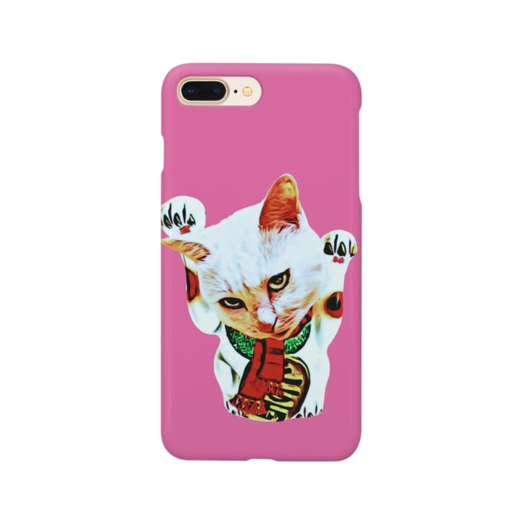 Rock catのBAD CAT Smartphone cases