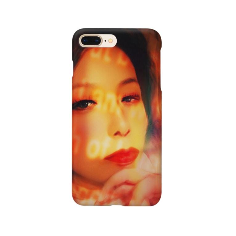 クレイドールのカッコつけるクレ子ちゃん Smartphone cases