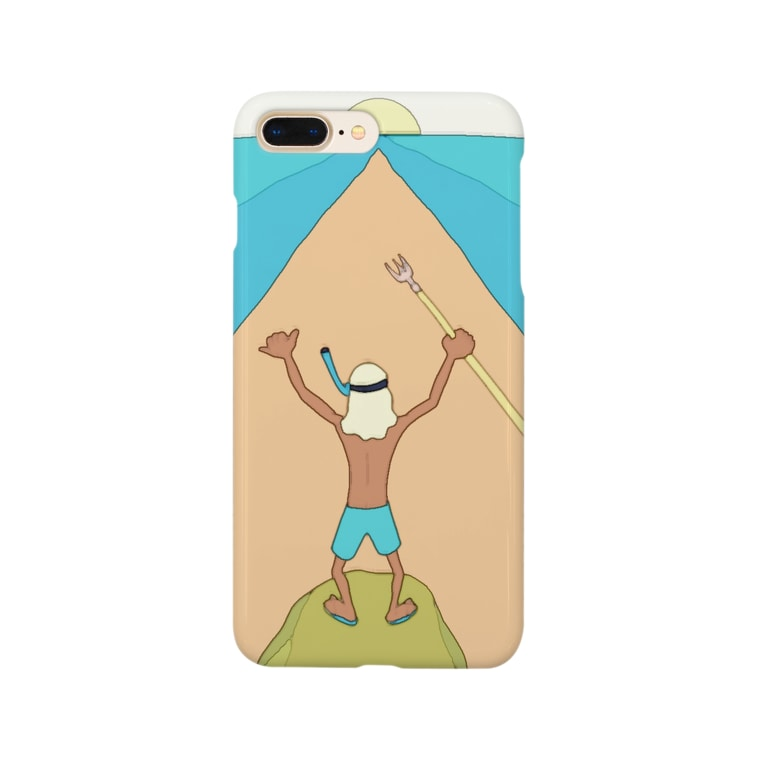 いろいろやろうショップの海開き Smartphone cases