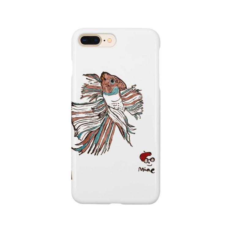 道化絵師Mine 公式グッズのベタ Smartphone cases