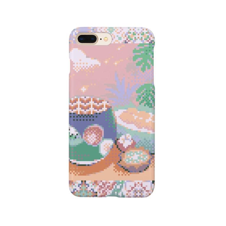 カヨSHOPのドリアンMIXスムージー Smartphone cases