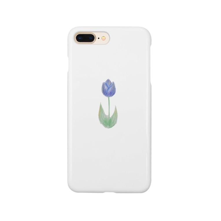 inomalのチューリップ Smartphone cases