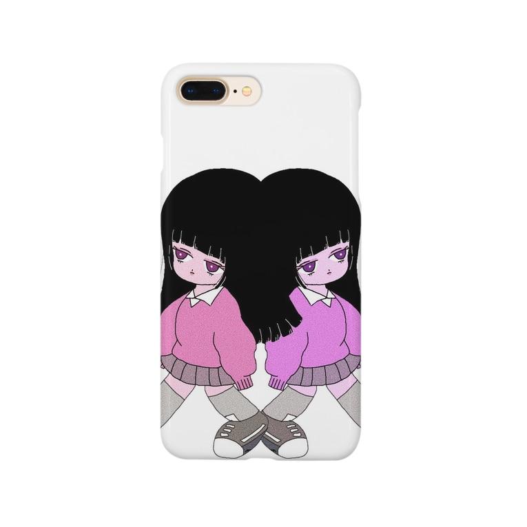 棘ガール🍓の棘ガール アンコとアンズ スマホケース Smartphone Case