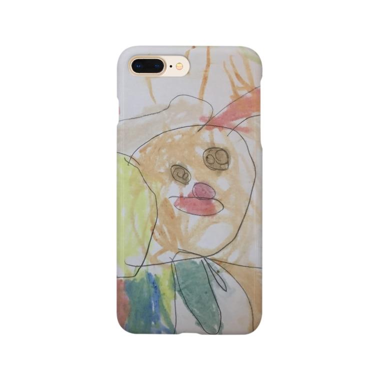 tante gartenのらんちゃんのト・リトリ Smartphone cases
