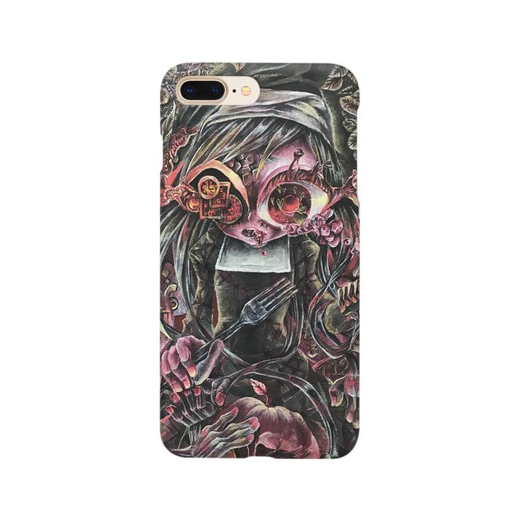 vapor@角展8/15~のなやめるシスター Smartphone cases