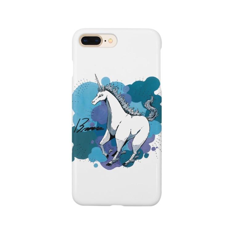 hareのユニコーン Smartphone cases