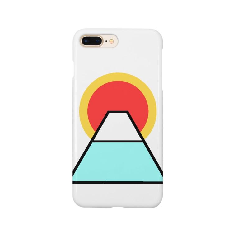 Qoo3の御来光 Smartphone cases