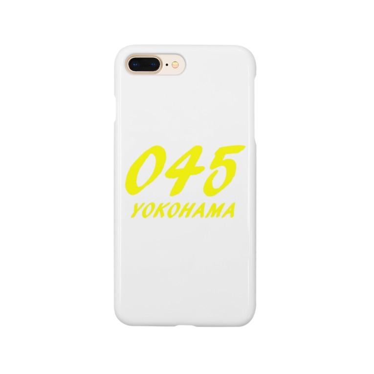 みうけんのヨコハマ露店のYOKOHAMA045グッズ Smartphone cases