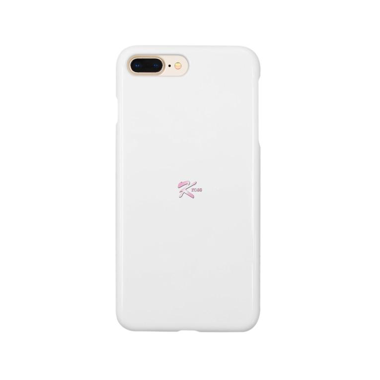 krossのkross 白 Smartphone cases