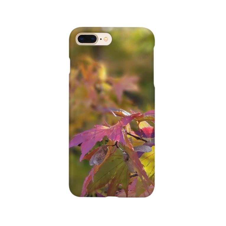 mariaMadeのもみじちゃん Smartphone cases