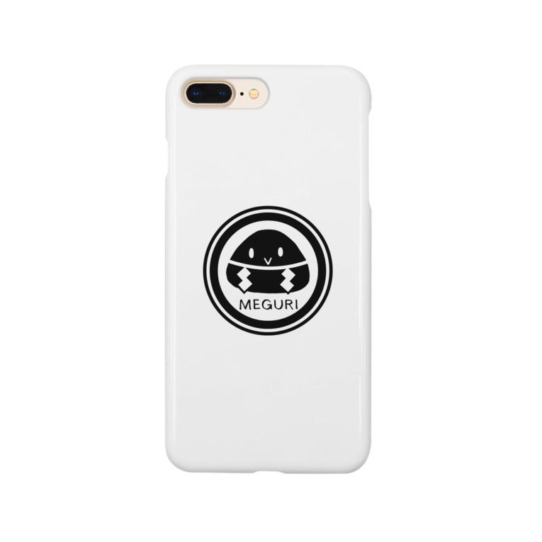 めぐり屋さんのめぐりロゴ Smartphone cases
