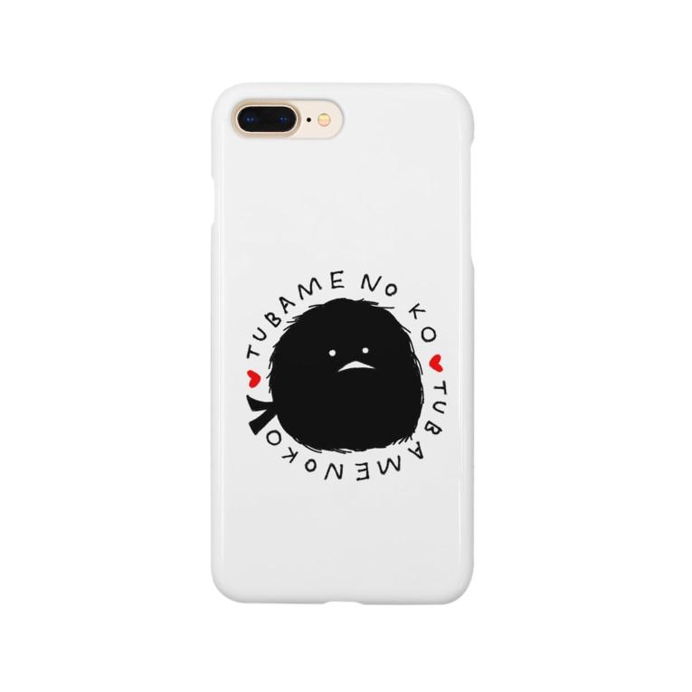 momomo_omiの燕の子 Smartphone cases