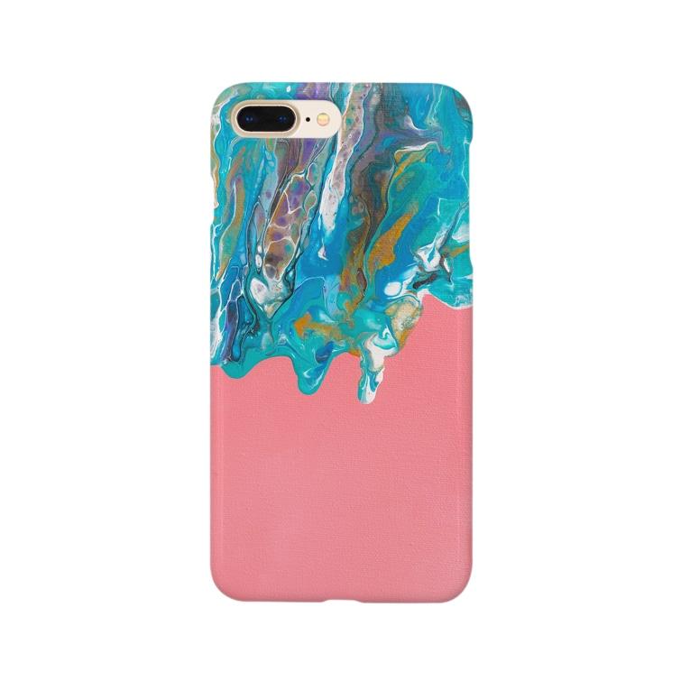 kiyoraの冬が溶ける春 Smartphone cases